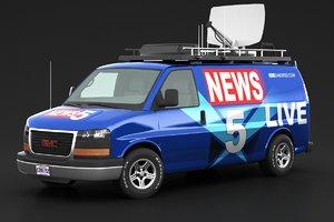 3D van news
