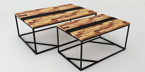 table wood 3D model