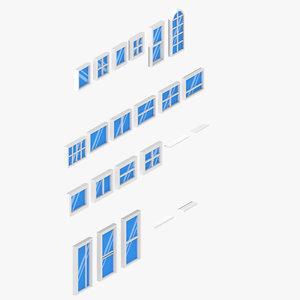 window set best ortographic model