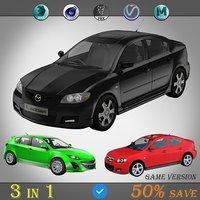 3 in 1 (Mazda 3 Pack)