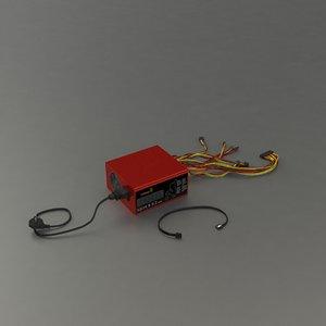 3D pc rig power model