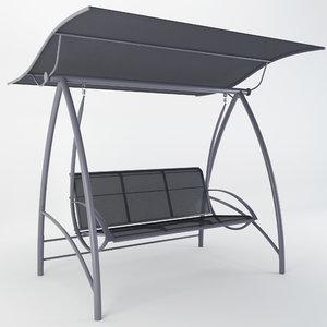 3D swing seat garden