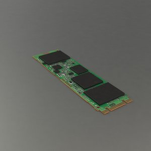hdd pc 3D model