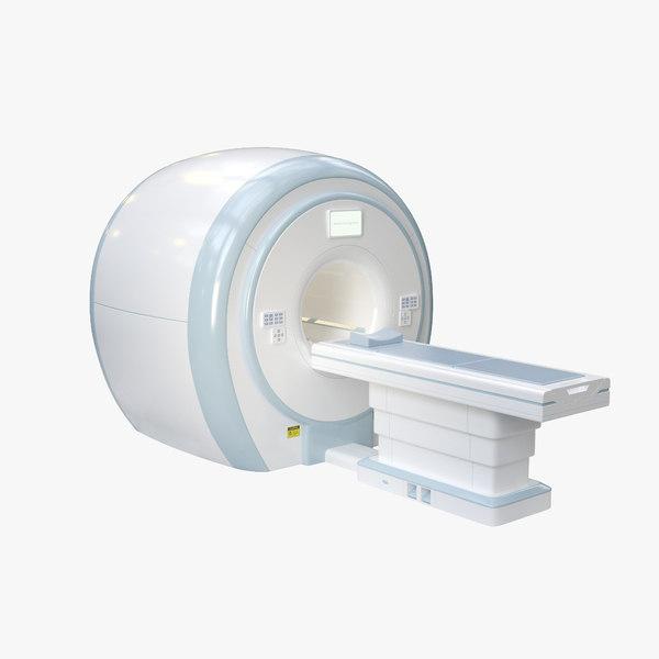 mri scanner 3D model