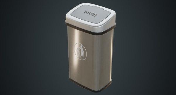 3D dustbin contains 6a