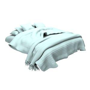 bed blanket 3D model