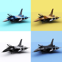 3D usaf f-16