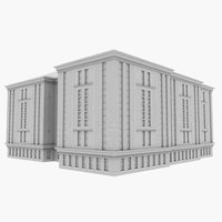3D office highrise