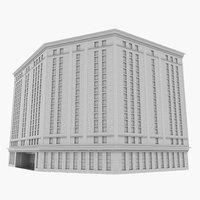 office highrise 3D model