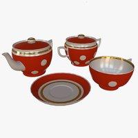 Soviet Tea Set