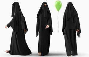 character traditional arab model