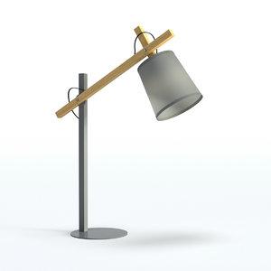 table lamp 9 design 3D