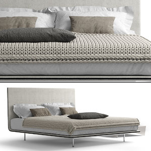 bonaldo ego bed 3D model