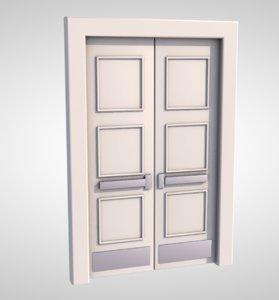3D door entrance exit