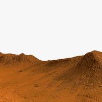 Mars Background Environment