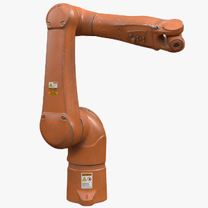robotic arm 4 3D model