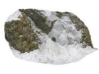 3D viking cliffs icefall model