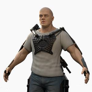 3D elysium character games