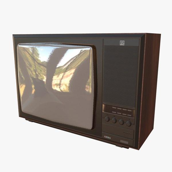 television rubin model
