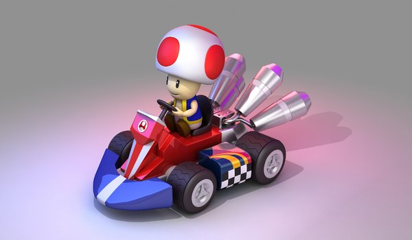 Toad From Mario Kart Nintendo
