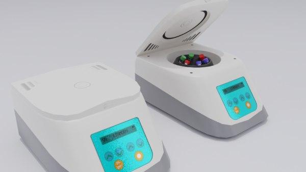 laboratory centrifuge 3D