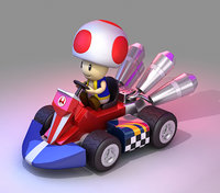 Toad from Mario Kart - Nintendo