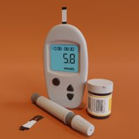 blood sugar/glucose monitor