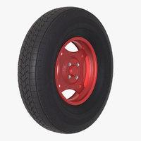 small wheel v2 3D model