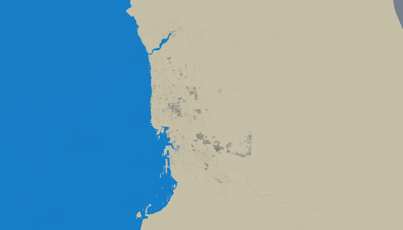 JEDDAH SAUDI ARABIA 3D MODEL
