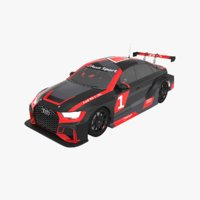 3D model audi rs3 lms tcr