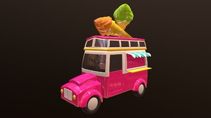 cartoons car 3D
