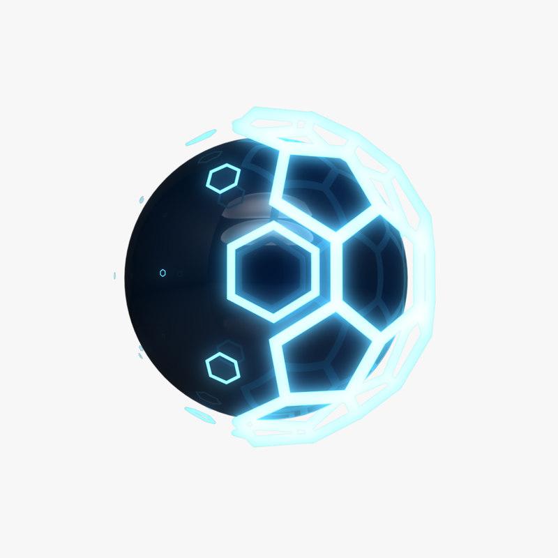 glow ball 3D model