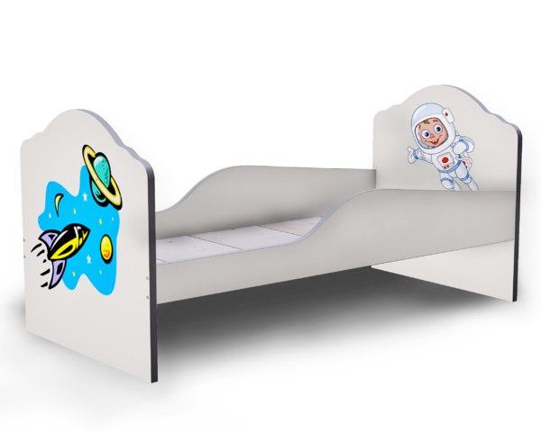 3D cot bed model