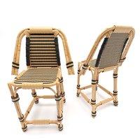 3D rattan chair model