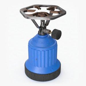 3D model gas stove