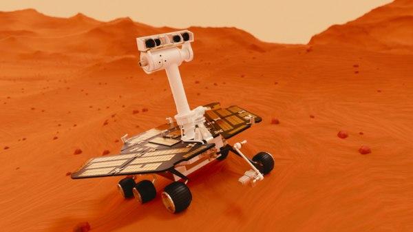opportunity mars rover 3D model