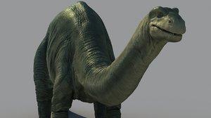 dinosaurus zbrush animations model