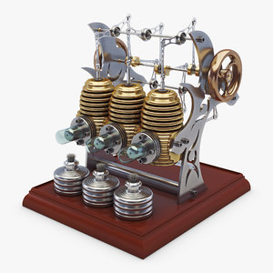 3D stirling engine v 1