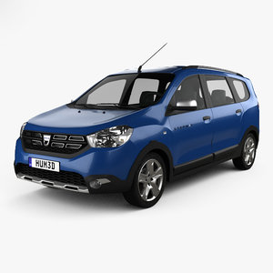 dacia lodgy stepway 3D