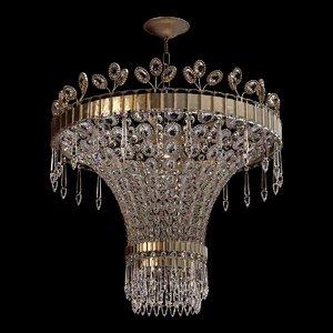 bagues paris chandelier 3D model
