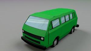 3D transporter vanagon caravelle