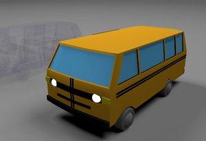 transportation lagos 3D model