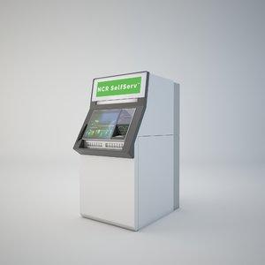 3D ncr 82 interactive teller