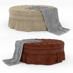 interior plaid leather model