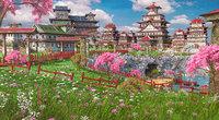 3D town fantasy asia model