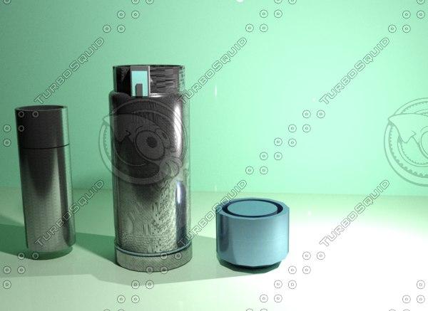 stainless steel 3D model