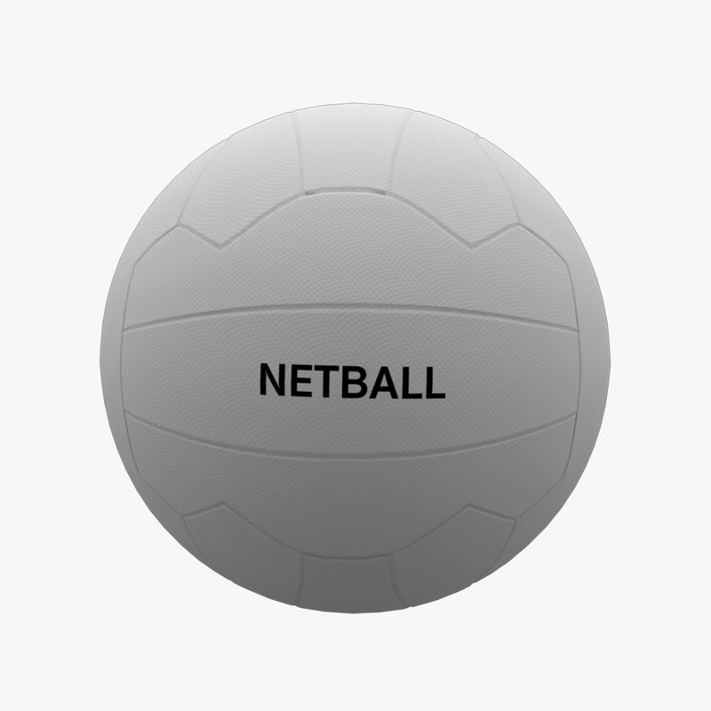 adult size netball 3D