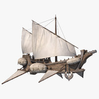 flying ship model