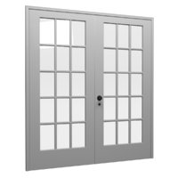 3D french door