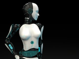 3D humanoid female